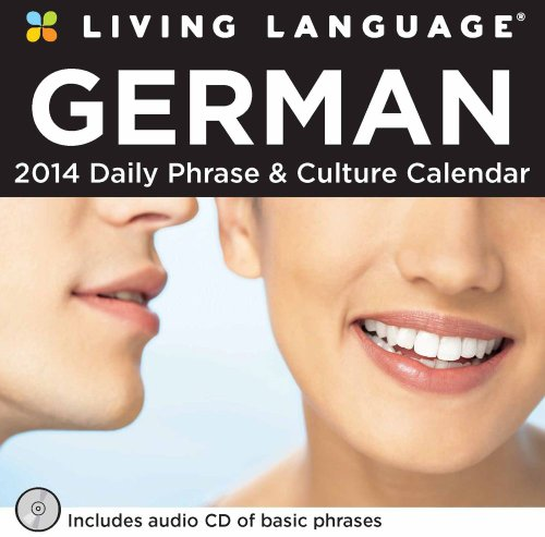foreign language calendars Living Language: German 2014 Day-to-Day Calendar: Daily Phrase & Culture Calendar