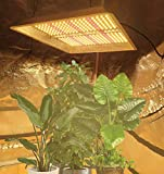 Luces LED para plantas de cultivo de espectro completo, 1000 W, luces para plantas de cultivo de hierbas, 380 LED para interiores, con temporizador para plantas de semillero e inve