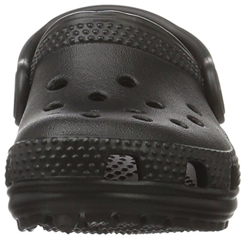 Crocs Kids' Classic Clog , Black, 3 Little Kid