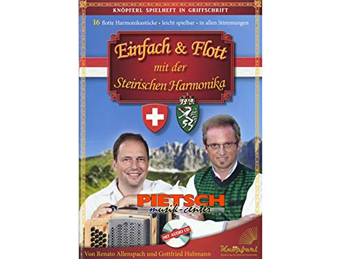 Allenspach, Renato: Einfach & flott (+CD) : für Steirische Harmonika in Griffschrift