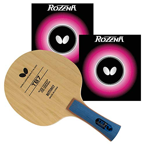 Butterfly TB Pro-Line Table Tennis Rackets - Medium Fast Blade and Rubber Combination Which Includes A Free Racket Case - Recommended for Advanced Level Players Pro-Line Series