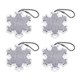BSK Safety Reflectors - Snowflake - Pack of 4