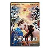 AHJK Romeo- und Julia-Filmposter, Leinwand-Kunst-Poster und