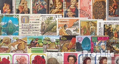 Prophila Collection Nueva Zelanda 100 Diferentes Sellos (Sellos para los coleccionistas)