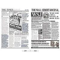 ノベルティ新聞紙巻毛布スクエアリバーシブル投げ - 3D新聞プリント楽しい夏のベッドカバー - ソフトマイクロファイバー毛布軽量キルトダブルクイーンサイズ(白),170x220x1cm
