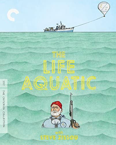 The Life Aquatic with Steve Zissou Criterion Collection Blu ray product image