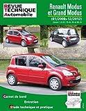 E.T.A.I - Revue Technique Automobile B775.5 - RENAULT MODUS / GRAND MODUS PHASE 2 - 2008 à 2012