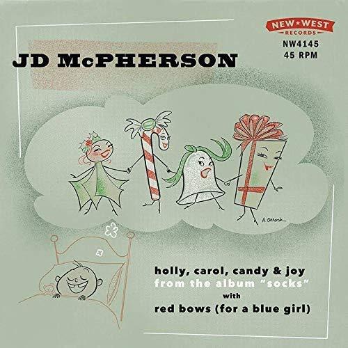 Holly Carol Candy & Joy / Red Bows