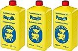 Pustefix Set de Pompas de Jabón (3 X Botella de Recambio)