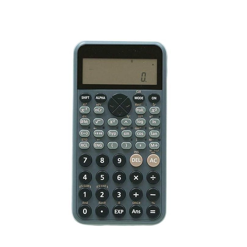 ボイコット実験をする差GCX 電卓80 * 160 * 12ミリメートル機能、多機能オフィス用品、学生のための財務会計のためのポータブル電卓 丈夫な (Color : Blue)