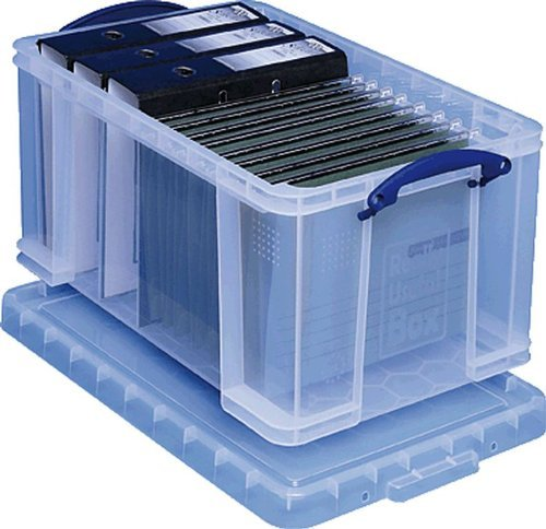 Really Useful Box Aufbewahrunsbox/48C 402x315x610 mm transparent PP Inh.48 Liter
