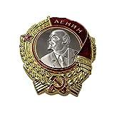 Kocreat COPIA Medalla de la Bandera Roja de la Unión Soviética-Medalla de Lenin-Medalla Militar de la URSS Medalla de Honor Medallas de guerra REPLICA