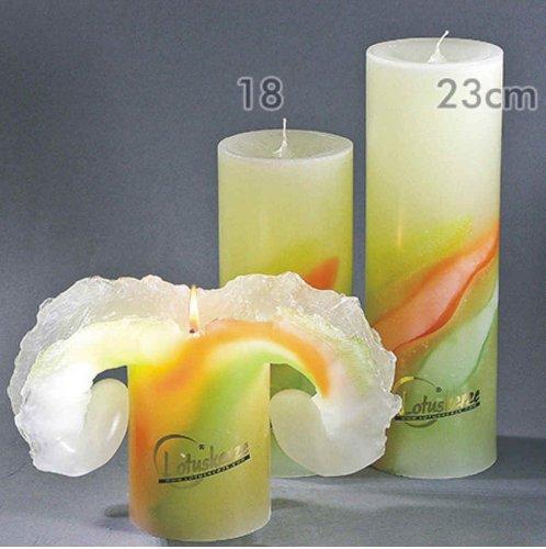 Candela Präsente Lotuskerze - Art 23 cm Spring