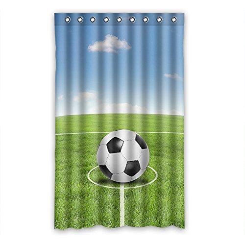 Dalliy Fußball soccer Fenstervorhang Vorhang Window Curtain Polyester 52