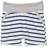 Sanetta Baby-Jungen fiftyseven Shorts Hose, Weiß (White 10), 62 (Herstellergröße: 062)