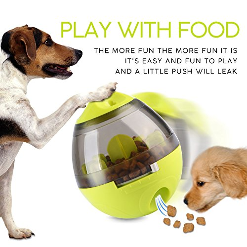 ALAMP Hundespielzeug Ball Interaktives Hundespielball Leckerli-Spender Snackball gegen Langeweile für Hunde und Welpen - 6