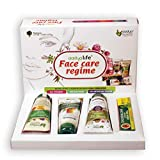 Aadya Life Chloasma Care Facial Regime- Gift Pack - Contains Face wash, Face scrub, Face pack & Cream 1 Tube each