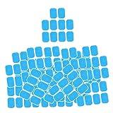 Sharplace 200 Uds, Almohadillas de Gel para Entrenador de Nalgas, Brazo de Cadera, Adhesivo, Accesorio de Fitness, Masajeador