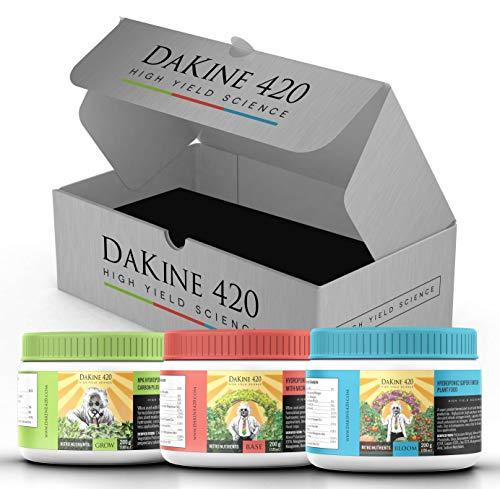 DaKine 420 Nitro Nutrients Advanced Hydroponic Fertilizer & Indoor Plant...