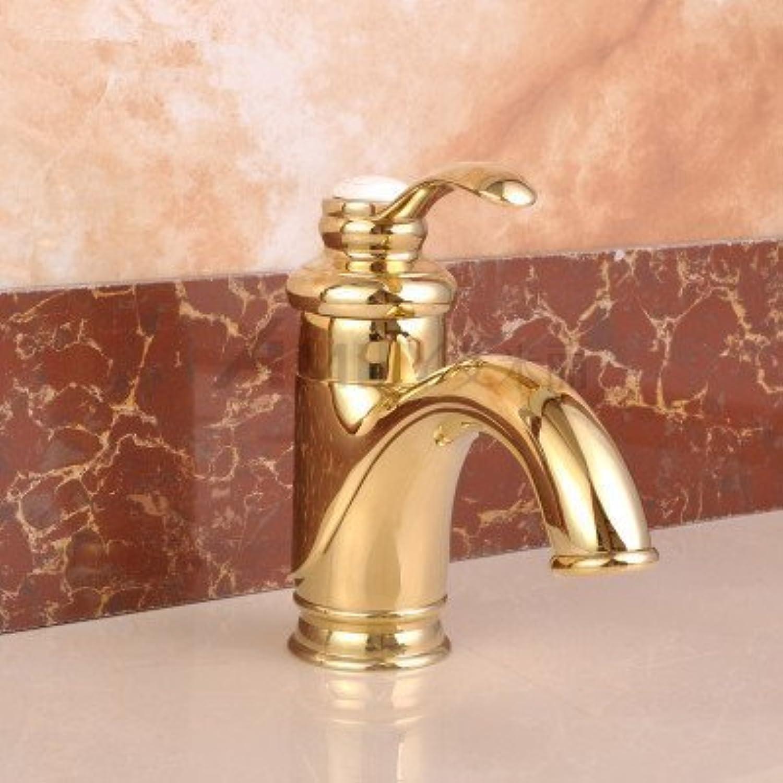 Im europischen Stil, Einloch führende Kupfer kalte Waschbecken Wasserhahn, B