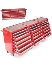 Gereedschapswagen XXXL met 21 schuifladen, werkplaatswagen, rolwagen, gereedschapskast