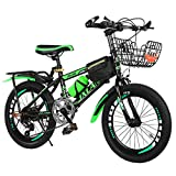 Children\'s Bicycles18/20 / 22 Inch Boys and Girls Bikes Variable Speed Mountain Kids