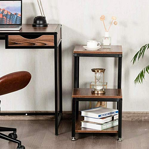Germerse Side Table Safe and Stable Practical Tea Table Environmentally Friendly Convenient Cafe for Home