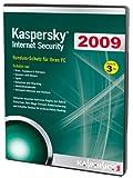 Kaspersky Internet Security 2009 (Lizenz für 3 PCs/DVD-Box) [import allemand]