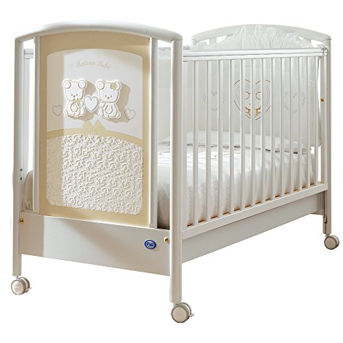 Pali 0127MAIS Smart Maison Bebe Lettino, Bianco