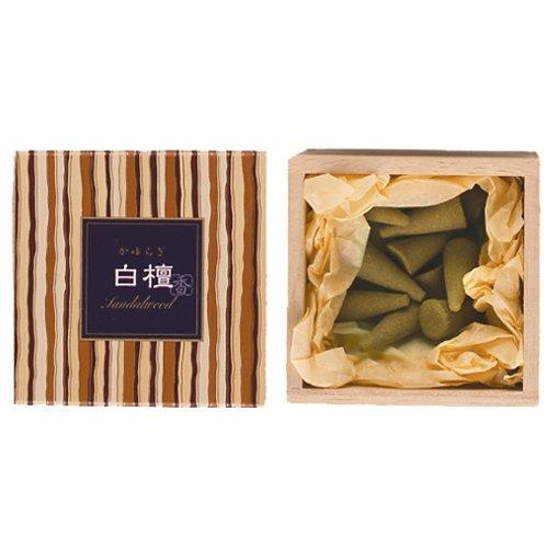 nippon kodo Kayuragi - Sandalwood 12 Cones, Japanese Quality Incense