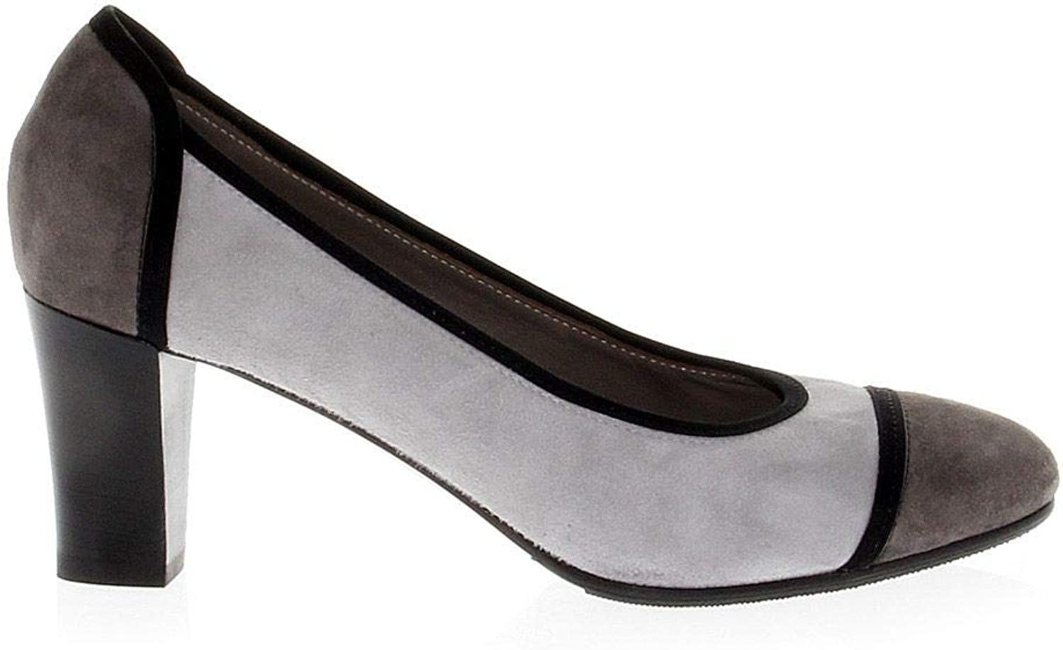 MARTINA Women's MART7536 Grey Suede Pumps