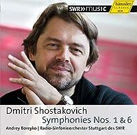 ショスタコーヴィチ : 交響曲 第1番 へ短調 op.10 | 交響曲 第6番 ロ短調 op.54 (Dmitry Shostakovich : Symphonies Nos. 1 & 6 / Andrey Boreyko | Radio-Sinfonieorchester Stuttgart des SWR) [輸入盤]