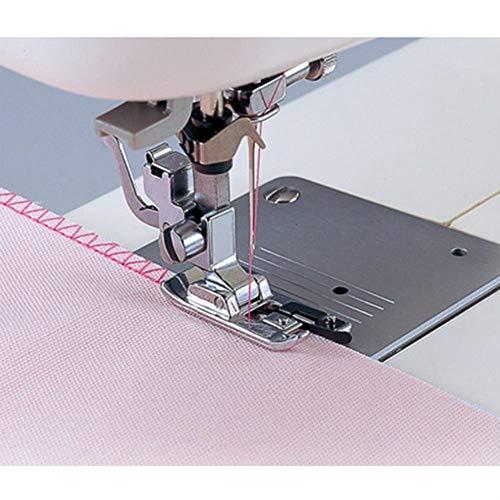 Pulabo Overlock Overcast máquina de coser prensatelas enrolladas dobladillo herramienta elegante y popular