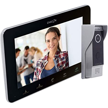 Chacon Videophone IP 2 hilos, WIFI, 7
