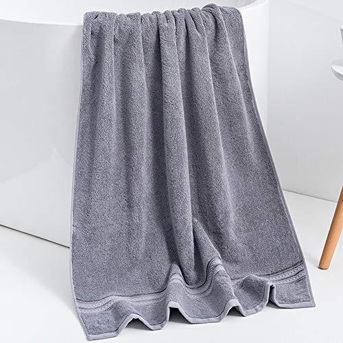 ZYCH Baño de Toallas Toallas de Peluquería,Toallas de Salón,Toallas de Mano,70x140 cm para Bebés,Niños Juegos de Toallas de/Cara/Mano/Baño,Paños de Limpieza/Cocina Turbante (Color : Gray)