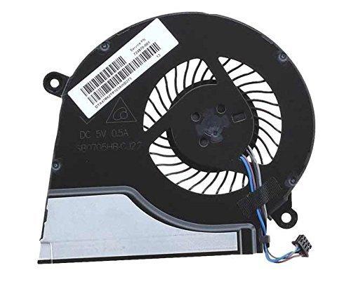 Ventilador de CPU Nuevo ventilador de refrigeración de CPU de repuesto para HP Pavilion 15-e021nr 15-e027ca 15-e027cl 15-e028us 15-e030wm 15-e033ca 15-e037cl 15-e039nr 15-e040ca 15-e041ca 15-e043cl 15