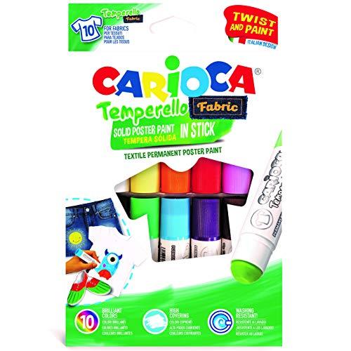 CARIOCA TEMPERELLO TEXTIL   42324 - Témperas Solidas