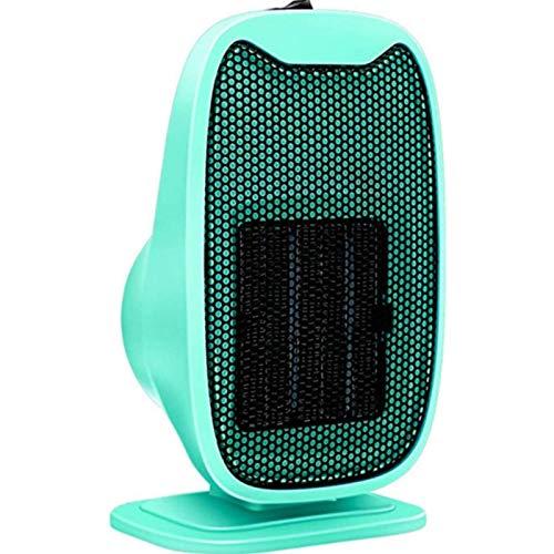 Calentador eléctrico, calentador de ventilador ventilador portátil del ventilador de escritorio eléctrico Mini calefacción Calentador de aire caliente para el hogar Calentador de radiador de baño de o