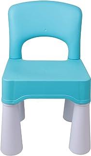burgkidz Silla de plástico para niños, Duradera y Liviana, Asiento de 9.3
