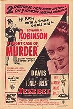 A Slight Case of Murder Movie Poster (27 x 40 Inches - 69cm x 102cm) (1938) Style B -(Edward G. Robinson)(Jane Bryan)(Allen Jenkins)(Ruth Donnelly)(Willard Parker)(John Litel)