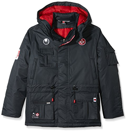 uhlsport FCK Winterjacke Jacke, Anthra, XL