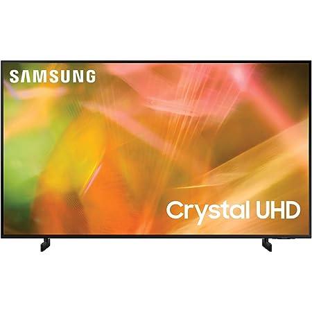 Samsung Crystal UHD 4K 2021 50AU8070 – Smart TV 50'', Risoluzione 4K UHD, Processore 4K, HDR, Wi-Fi, Nero, [Efficienza energetica classe G]