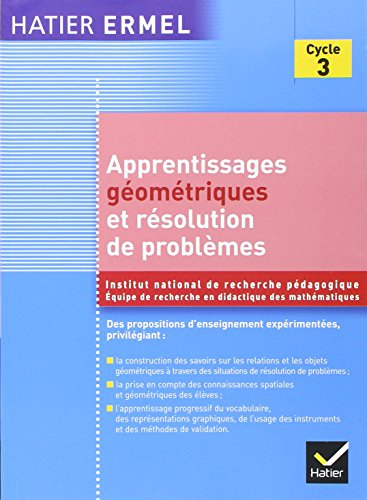 Ermel - Apprentissages Géométriques et...