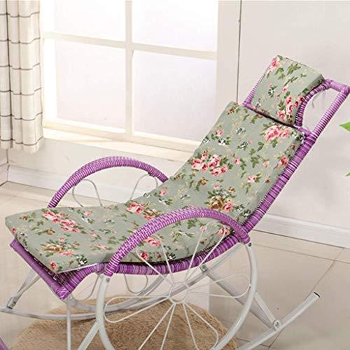 Réglable Pliable Sun Reclining Recliner Chaises de jardin extérieur Relaxer Avec Coussin Chaise longue D5 / 15 (Couleur: C) 8bayfa (Color : E)