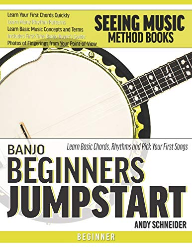 Banjo Beginners Jumpstart: Learn Basic Chords, Rhythms and Pick Your First...