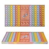 Feligio Pop It Riant XXL – Pop it Fidget Toys Popit Anti-Stress-Spielzeug (Macaron)