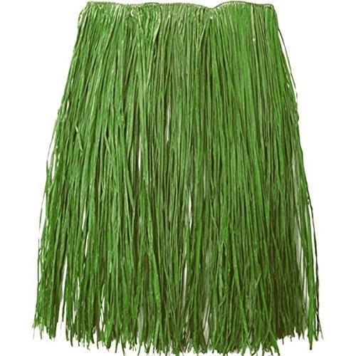 Amscan 340510 Green Grass Hula Skirt - Adult L/XL