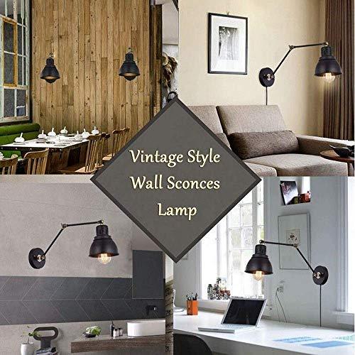 Wandlamp wandlamp glazen spiegel voorlicht bedlampje wandlamp met stopcontact verlichting lange mouwen loft wandverlichting Industr