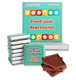 Feed Your Depression Chocolate Gift Set, 5x5 in, 1 box (DEPRESSION Prime 0303)