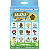 SEEKERS Scavenger Hunt Game Christmas Add-On Pack. Fun For Children All Ages. Ideal For stocking fillers. Indoor/Outdoor Games for Kids. Magnetic Board Starter Set Sold Separately.